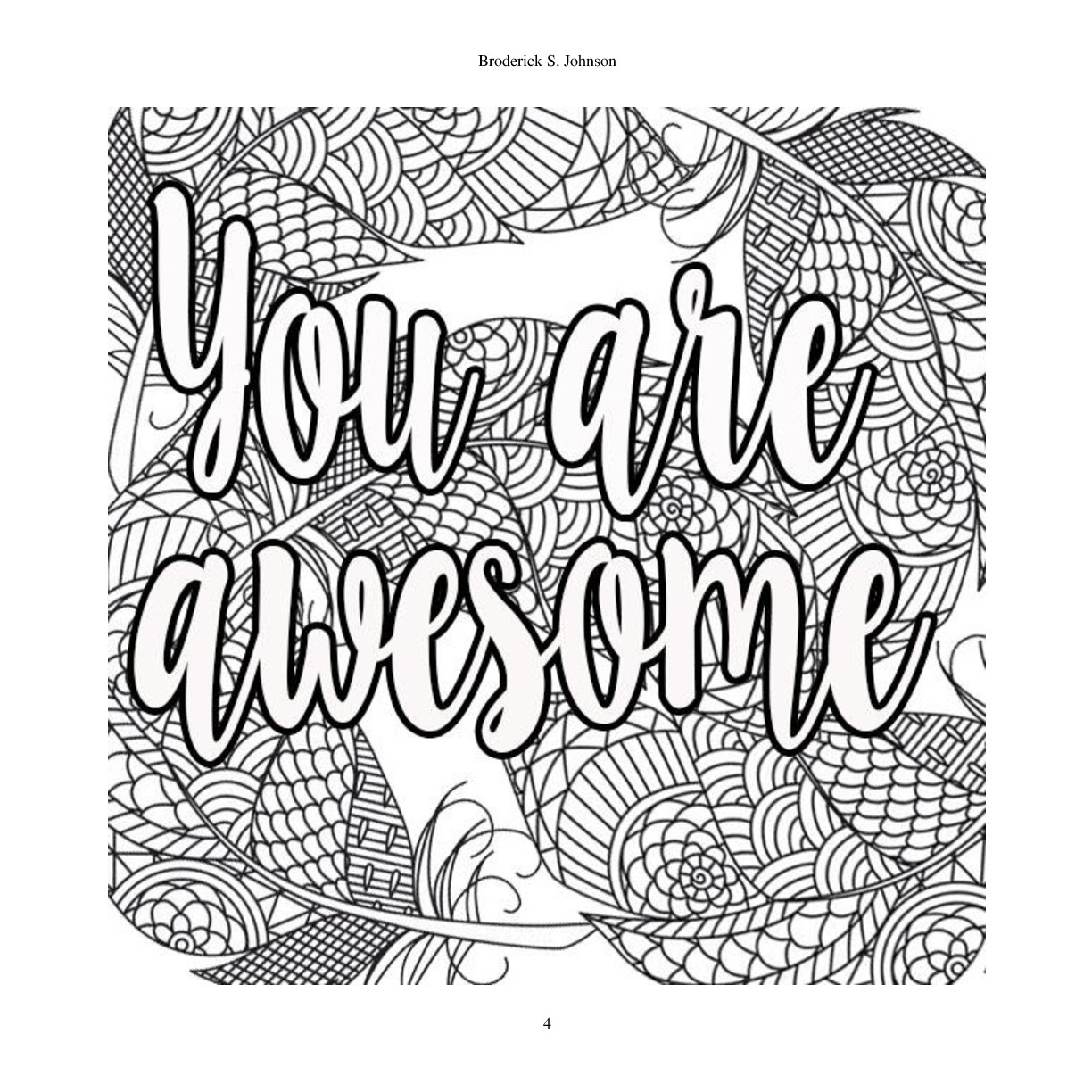 96 Motivational Coloring Pages Pdf , Free HD Download