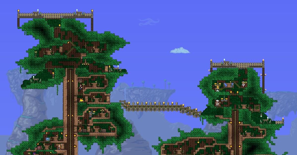 Terraria Living Wood Wall