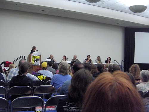 """Eye on the Past"" panel"