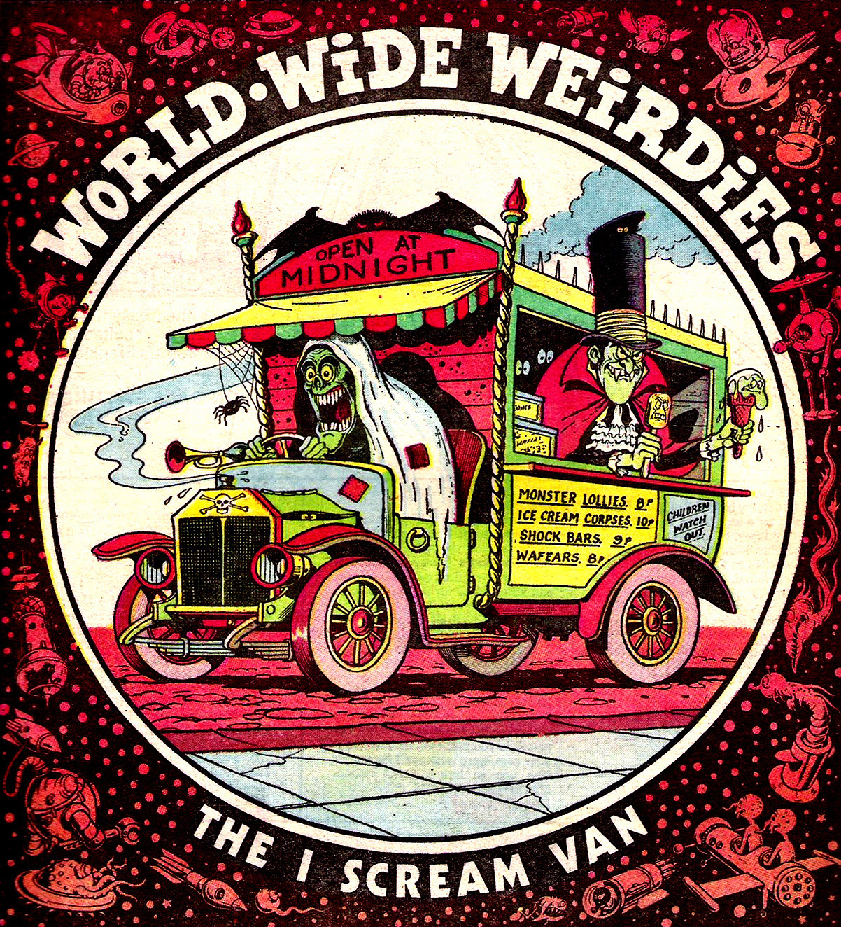 Ken Reid - World Wide Weirdies 63