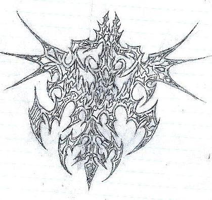 Tattoo01 - chest tattoo