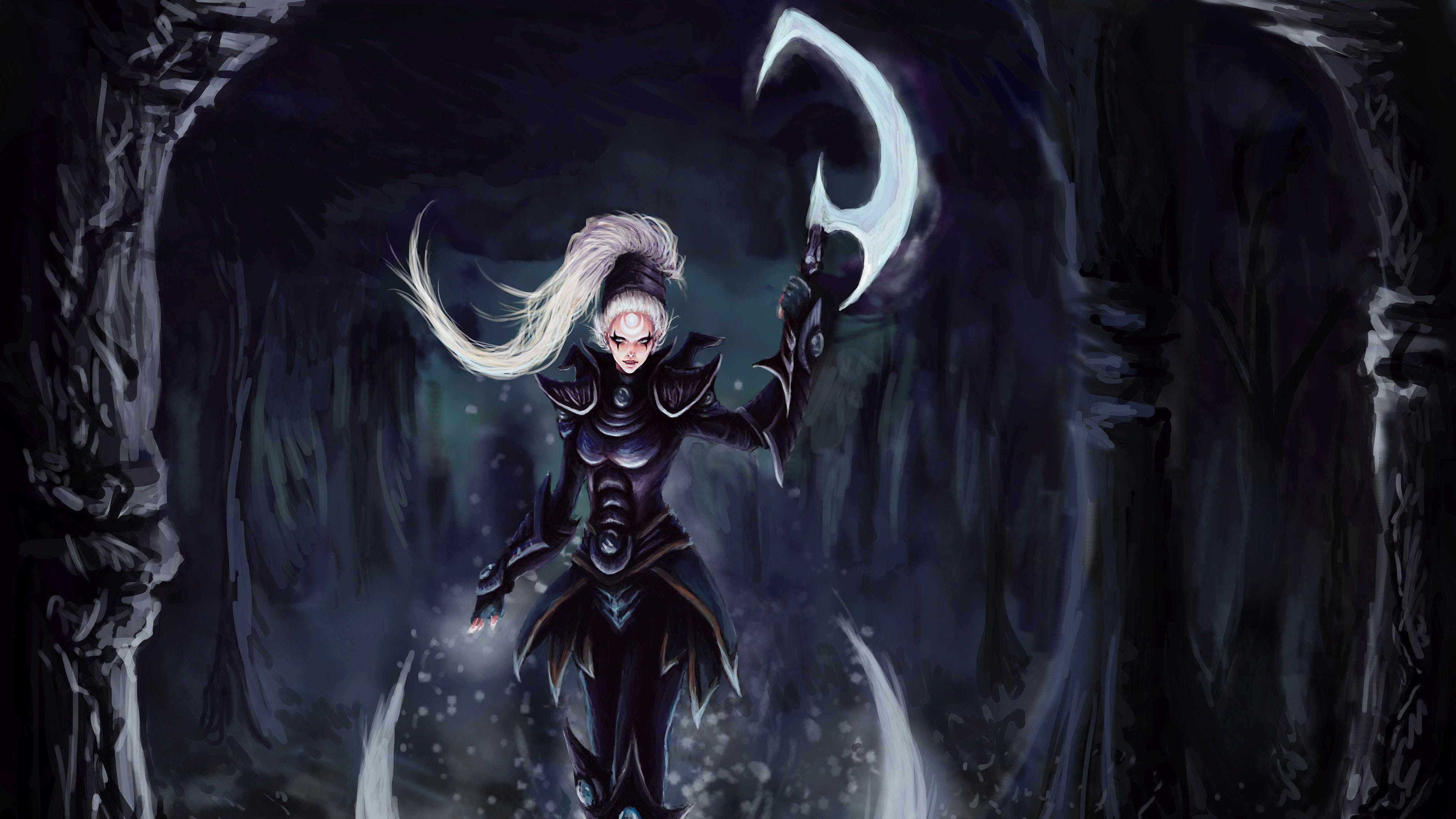 Hd Diana In The Forest League Of Legends Wallpaper Download