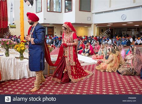 Punjabi Wedding Stock Photos & Punjabi Wedding Stock