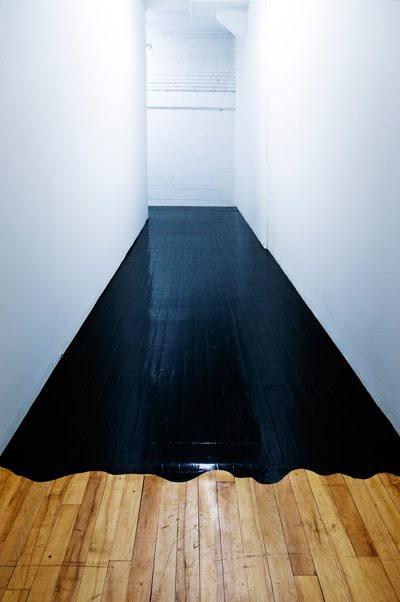 black paint...