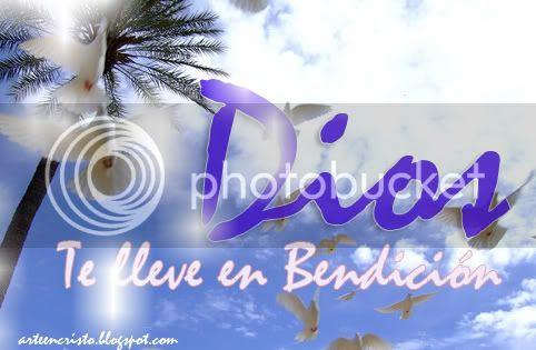 Dios te kkeve en Bendición..