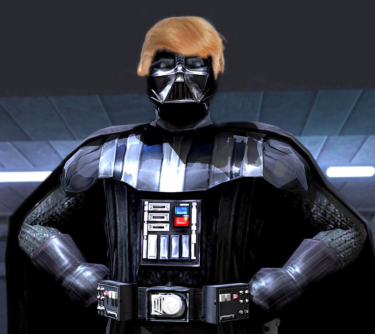 """Résultat de recherche d'images pour """"trump dark vador"""""""