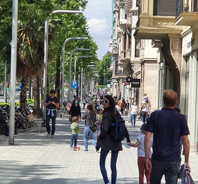 Descontrol total en el primer día de desconfinamiento en España