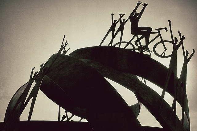 Fausto Coppi - Monumento