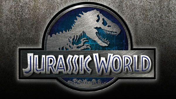 The logo for JURASSIC WORLD.