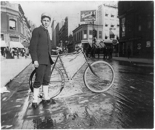 Alice Austen - Messenger Bike