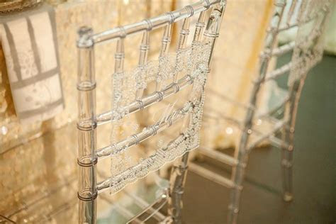 Wedding reception decor with lace wedding details inspired