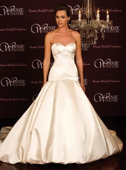 Bridal Gowns: winnie couture bridal gowns