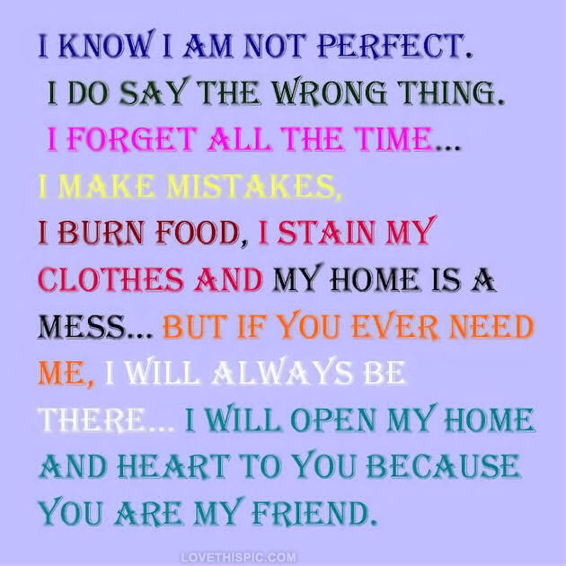 Quotes About Not Perfect 621 Quotes
