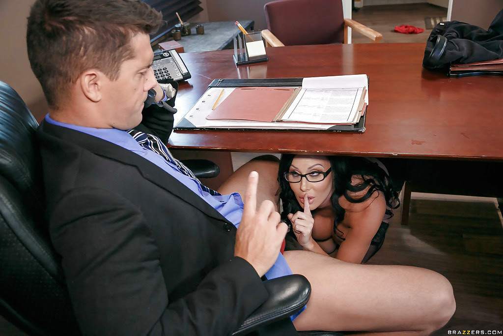 Step Son Fucks Mom Under Table