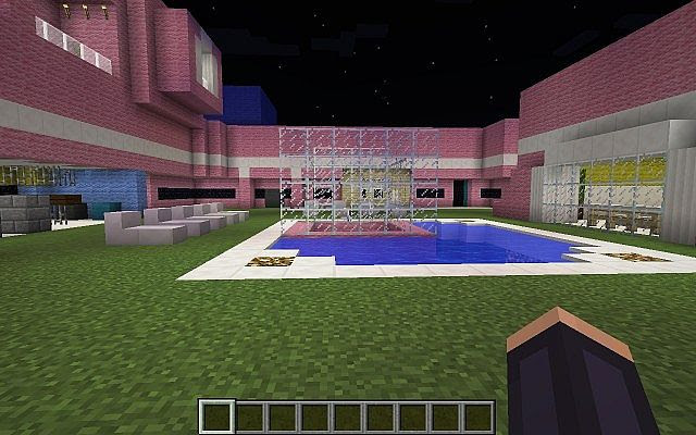Big Brother Australia House 2014 Minecraft Project