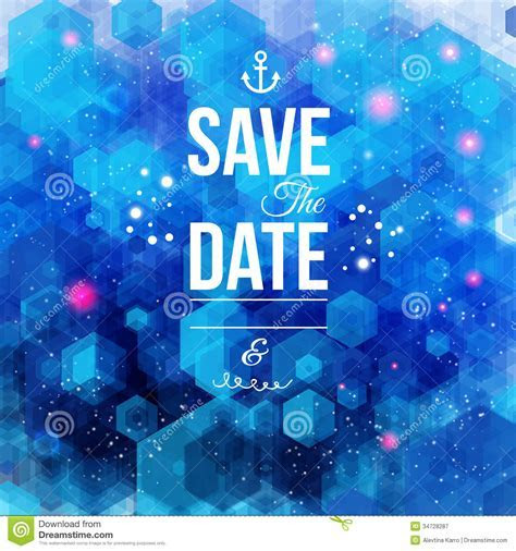 Save The Date For Personal Holiday. Wedding Invita Royalty