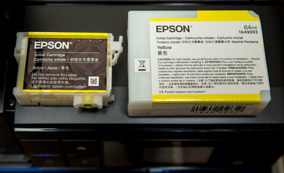 P600 (left) vs P800 (right) Ink Cartridges