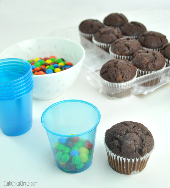 how to make easy treat cups from your grocers bakery