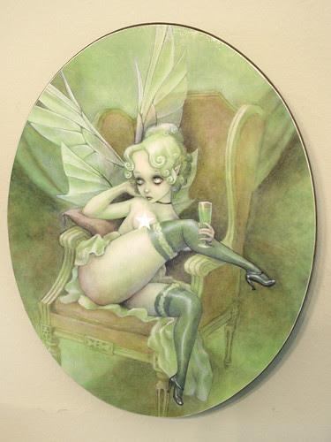 Absinthe Fairy Plaque