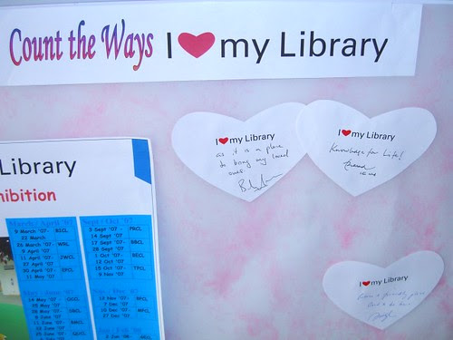 """I Love My Library 2007"" - Love Notes"