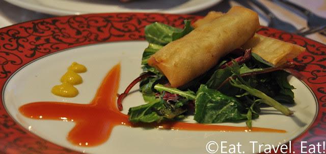 Sesame Grill: Vegetable Rolls
