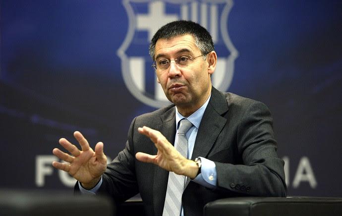 Josep Maria Bartomeu novo presidente do Barcelona (Foto: AFP)