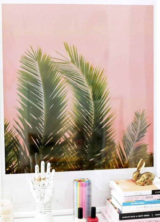 Le Fashion Blog Stylish Whimsical Work Space Urban Outfitters Pink Palm Print Poster Hand Shape Jewelry Holder Brass Rabbit Office Decor photo Le-Fashion-Blog-Stylish-Whimsical-Work-Space-Urban-Outfitters-Pink-Palm-Print-Poster-Hand-Shape-Jewelry-Holder-Brass-Rabbit-Office-Decor.jpg
