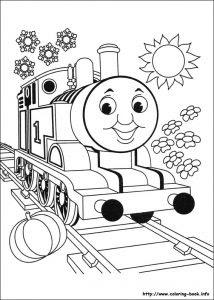 1 Sınıf Boyama Kağıtları Etkinlikleri Trenler Dersodevicom