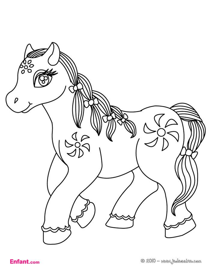 149 Dessins De Coloriage Poney à Imprimer Sur Laguerchecom Page 12