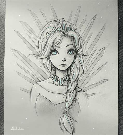 ice queen  natalico jelsa fans   dibujos