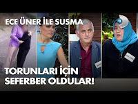 Gelin Gizem, 8 yaşındaki kızını da alıp kayıplara karıştı! - Ece Üner ile Susma 33. Bölüm - KanalD