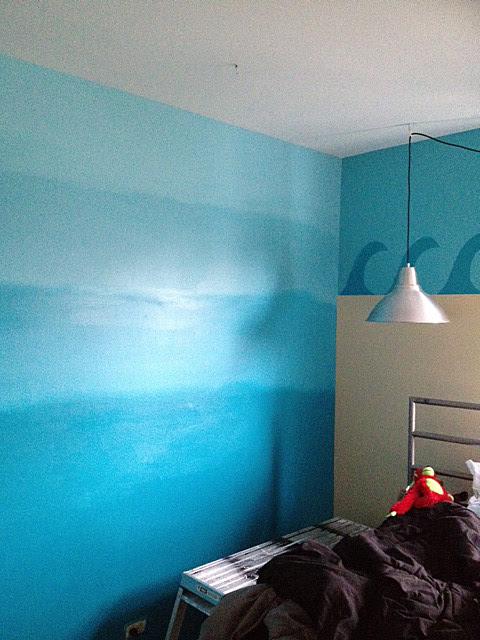 Tween gets an Ocean Themed Room   The Martha Project