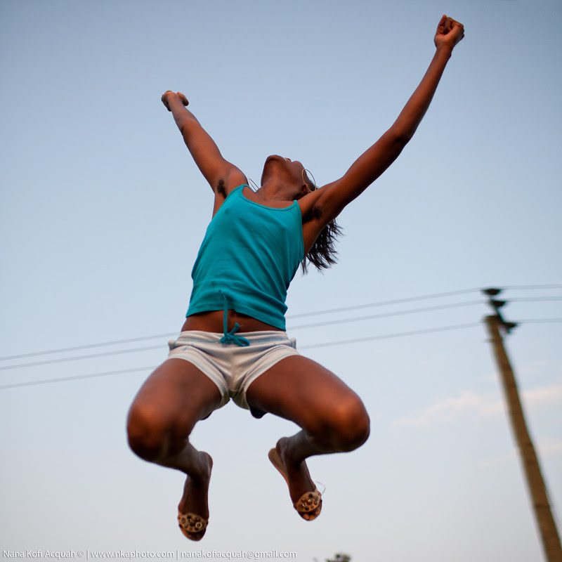 Girl-in-the-air