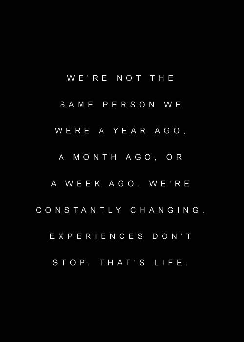 Life Tumblr Quotes True Change Always Grown Letsswingtogether