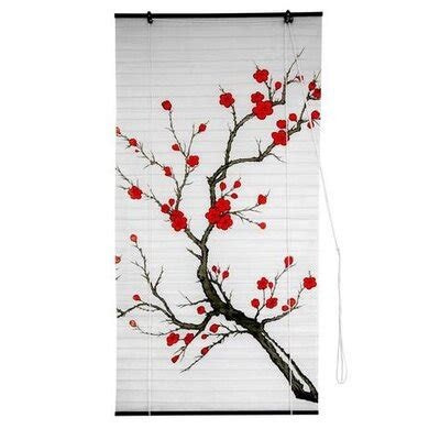blossom shoji rice paper roller blind wayfair