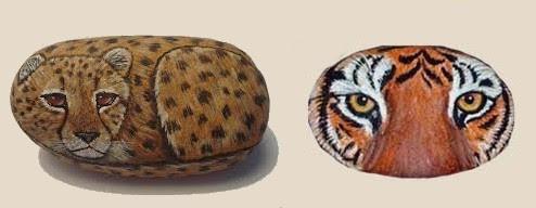 come colorare i sassi,sassi dipinti con modelli di animali,sassi sipinti,fai da te,colora i sassi,