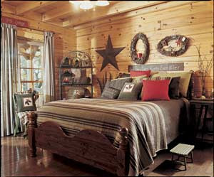 Bedroom Planning and Decorating Tips - LogHome.