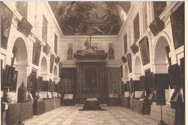 Sacristía de la Catedral antes de la incautación llevada a cabo por las autoridades republicanas en 1936