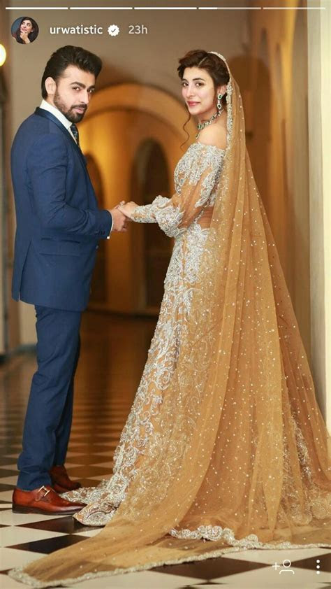 Urwa hocane and Farhan saeed's wedding   Irfan Ahson