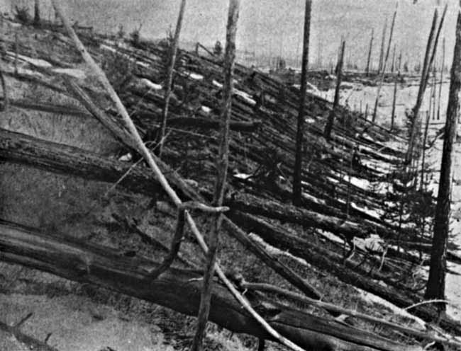 On This Day in Space! June 30, 1908: Asteroid explosion over Tunguska, Siberia #rwanda #RwOT Paquetá
