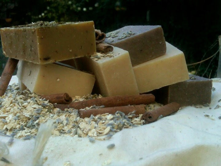 Ancient Blends Natural Oatmeal Soaps