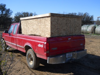 Mulch Truck Bed Carrier