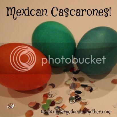 www.myveryeducatedmother.com How to Make Mexican Cascarones #confettieggs