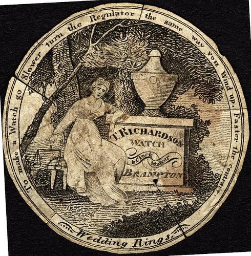 T Richardson Watchmaker, Brampton (18th-19th cent.)