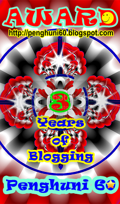 3 Years of Blogging Award