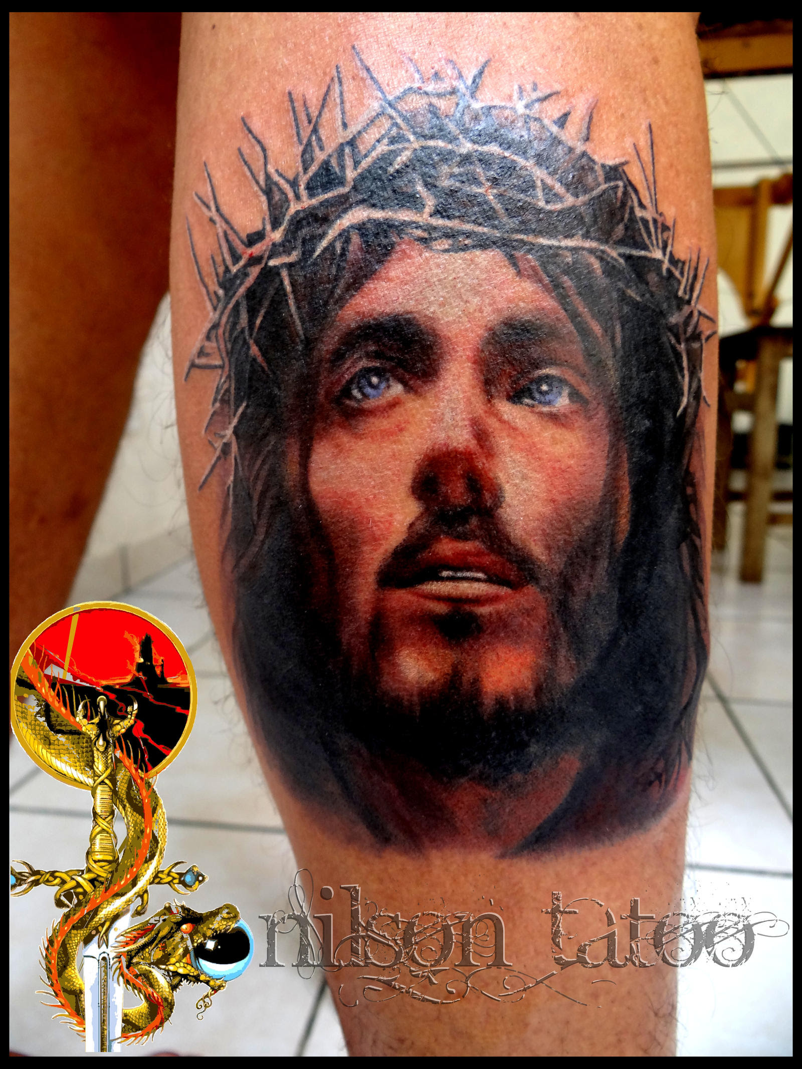 Disegno Ken Ay Share Jesus Christ Tattoo Designs