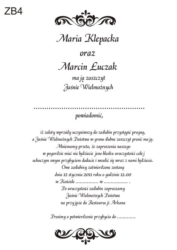 Wierszyki Na Zaproszenie Na Urodziny