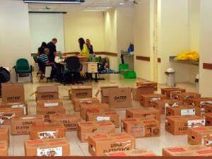 Urnas serão distribuídas nas 69 zonas eleitorais do RN (Foto: Divulgação/TRE-RN)