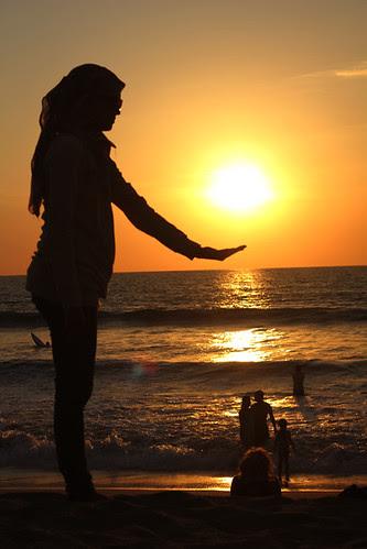 Sunset in Kuta - Bali