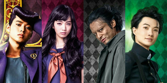 JOJO'S BIZZARE ADVENTURE: Take A Gander At All Seven Character Posters For Miike Takashi's New Live-Action Adaptation